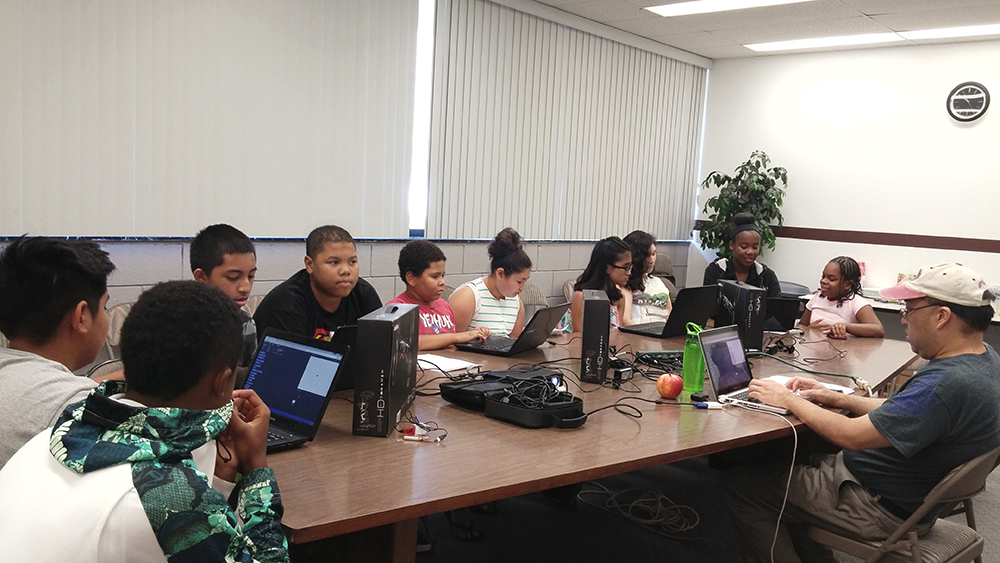 2015 Coding/Robotics Summer Camp